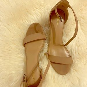 Size 8, chunky heel shoes from Target